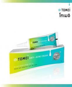 tomei anti acne cream 7 in 1 ครีมทาสิว