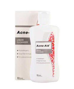Acne aid สีแดง
