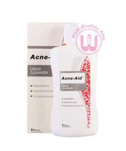 Acne aid liquid cleanser ขวดสีแดง