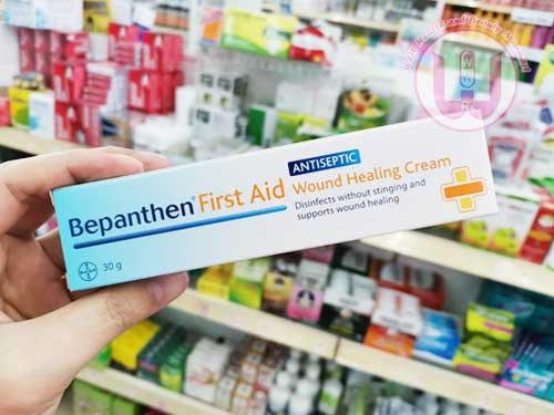 ครีมทาแผล Bepanthen first aid