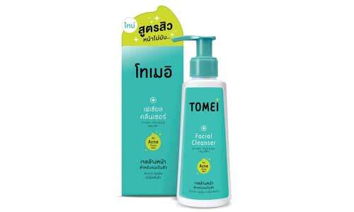 tomei facial cleanser product