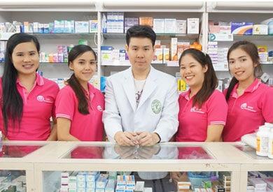 เภสัชกรร้านขายยา