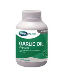mega garlic oil